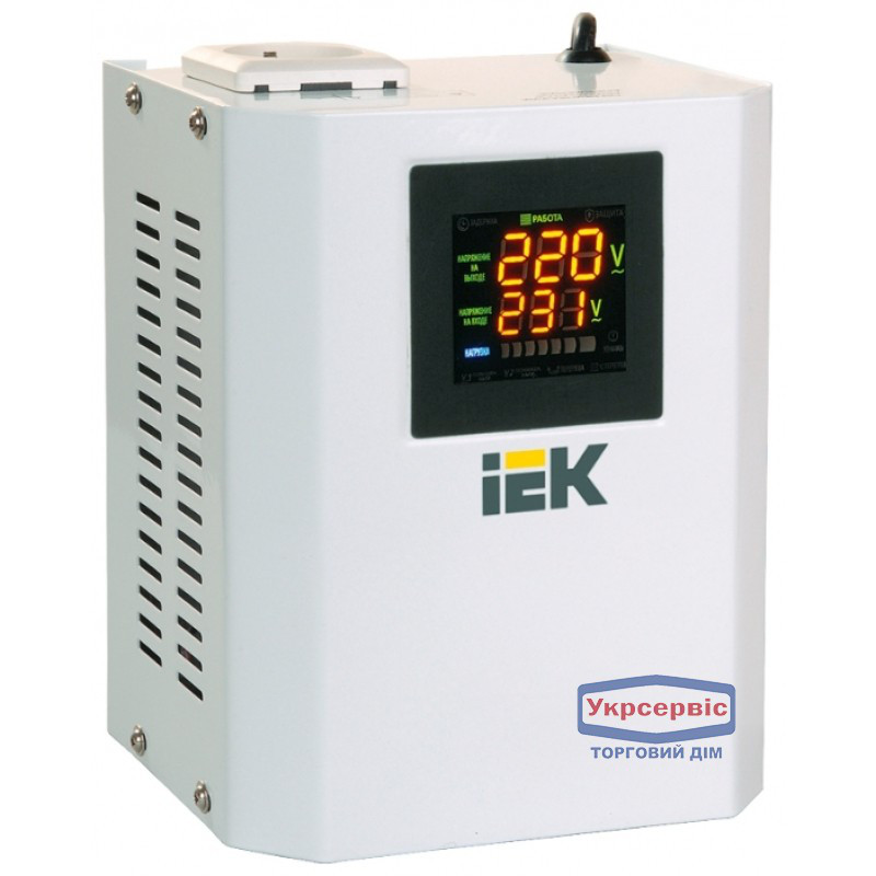 Стабилизатор однофазный IEK Boiler 0.5 кВа
