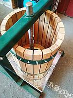Большой дубовый пресс  для сока объёмом - 30л, фото 1