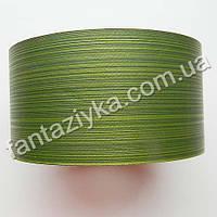 Лист аспидистры 6см зеленый, лента полипропиленовая