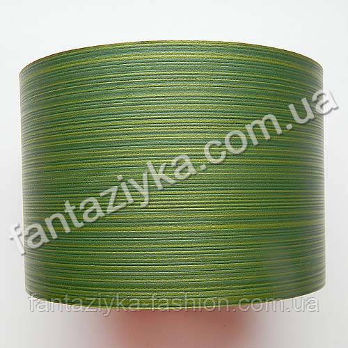 Лист аспидистры 8см зеленый, имитация живого листа