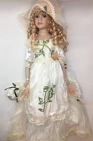 """Кукла сувенирная, фарфоровая, коллекционная Porcelain doll  """"София"""" 50 см (1303-03)"""