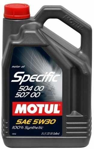 Синтетическое моторное масло Motul Specific 504.00-507.00 5W-30 5л (1л)
