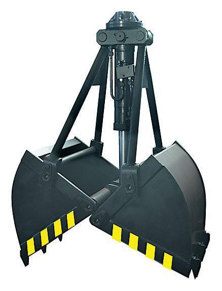 Ковшевой захват ПЛ-70.42 с вертикальным расположением цилиндра