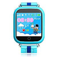Детские часы GPS Baby Smart Watch Q100S синий