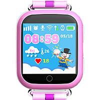 Детские часы GPS Baby Smart Watch Q100S розовый