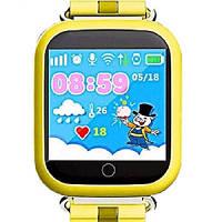 Детские часы GPS Baby Smart Watch Q100S желтый