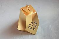 "Коробка ""Колокольчик""  золото"