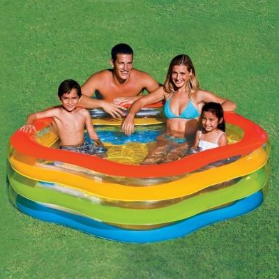 Надувной бассейн Краски лета