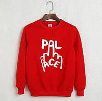 Модный свитшот в стиле Pal (красный, синий)