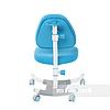 Комплект подростковая парта Amare Blue с выдвижным ящиком + подростковое кресло для дома Ottimo Blue FunDesk, фото 4