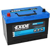 Аккумуляторная батарея двойного назначения Exide ER450 Dual 95А/ч