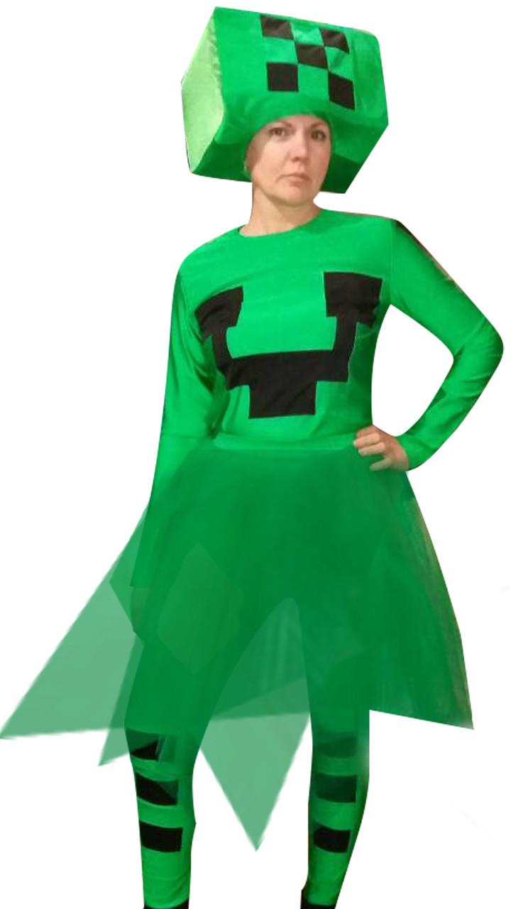 костюм для майнкрафт девочкам #7