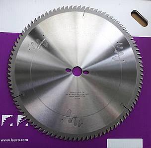 400x3,5x2,5x30 Z=96 Чистовые дисковые пилы Leuco по дереву для станков, фото 2