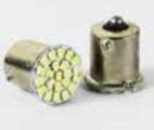 Led Лампа T25-1206-22шт 24V 1156-один контакт красный