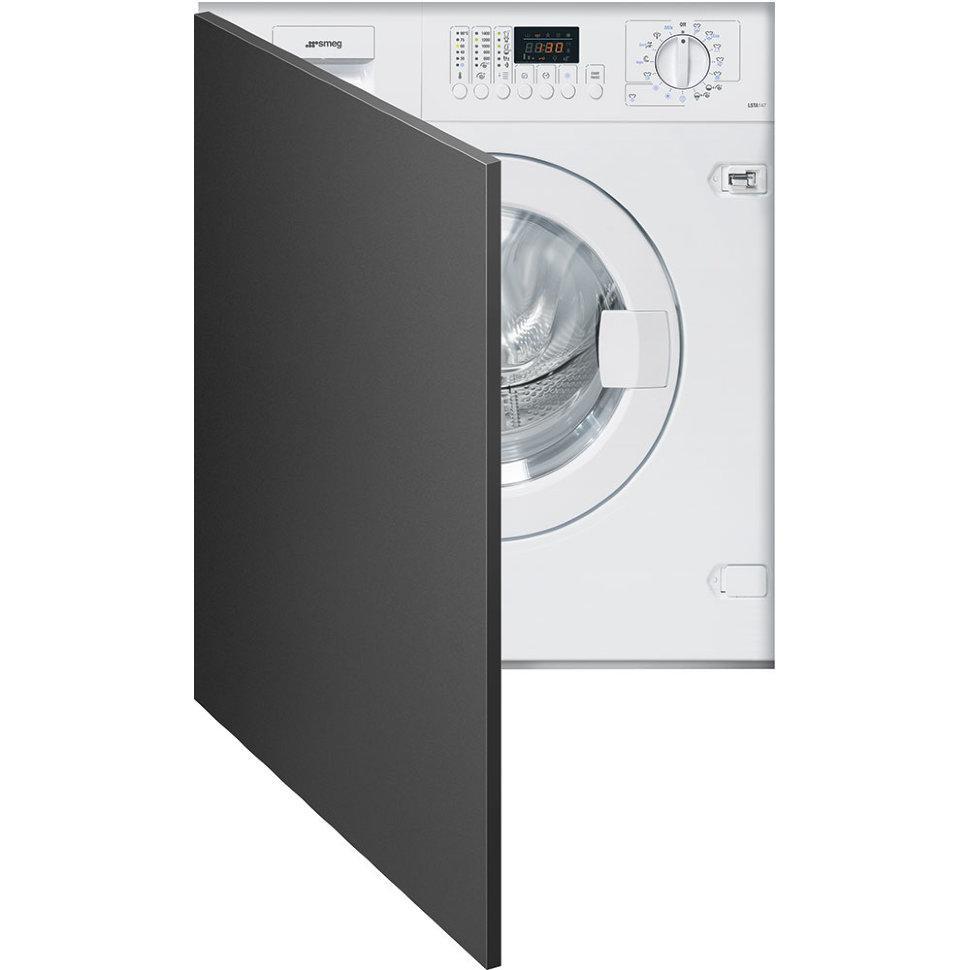 Встраиваемая стиральная машина с сушкой Smeg LSTA147