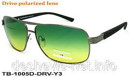 Очки для вождения антифары TED BROWNE TB-1005D DRV-Y3 62□13-135