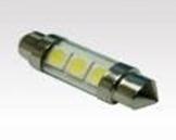 Led Лампа S85-36mm-3pcs 5050 24V белый
