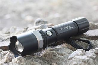 Тактический, туристический фонарь POLICE (велофара) X-Balog (BL-T8628-XPE)