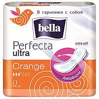 Прокладки женские bella Perfecta Ultra Orange, 12 шт.