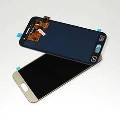Дисплей модуль экран с сенсором для замены на Samsung A320F Galaxy A3 (2017) золотой