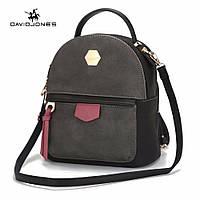 Рюкзак сумка городской женский  DAVID JONES (черный), фото 1