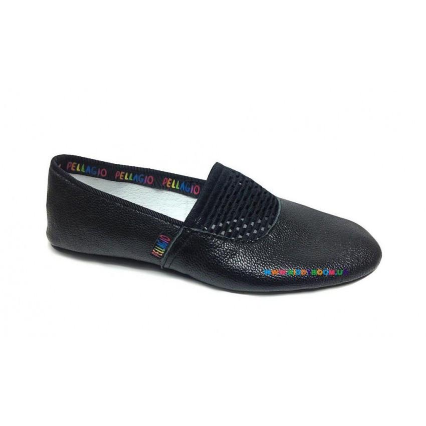 Чешки кожаные черные р 22-35 Pellagio 036/01