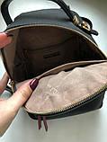 Рюкзак сумка міський жіночий DAVID JONES (чорний), фото 9