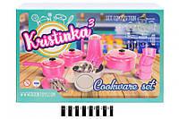 """Набор посуды """"Kristinka 3"""" в коробкеі 165 (шт.)"""