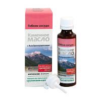 Суспензия Каменное масло с дигидрокверцетином ( гибкие сосуды)
