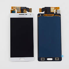 Дисплей модуль экран с сенсором для замены на Samsung A500F Galaxy A5 Duos A500FU A500H (2015) TFT белый