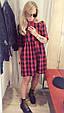 Платье распашонка в клетку , фото 5