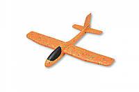 Самолет  планер из пенопласта 38 см