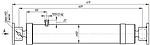 Гидроцилиндр прицепа 1 ПТС-9, фото 2
