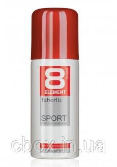 Парфюмированный дезодорант спрей для мужчин 8 Element Sport, Faberlic, Фаберлик, 100 мл, 3610