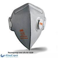 Респиратор медицинский N95 Uvex 3220  FFP2, фото 1