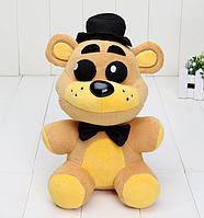 Оригинальная плюшевая игрушка  Голден Фредди, 15см,  5 ночей с Фредди Аниматроники. Фнаф, фото 1