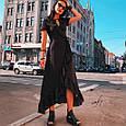 Длинное платье рюши на запах, фото 7
