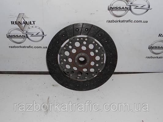 Диск сцепления демпферный 2,5 на Renault Trafic, Opel Vivaro, Nissan Primastar