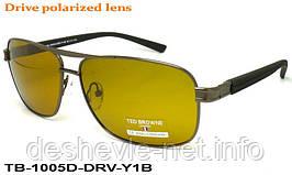 Очки для вождения антифары TED BROWNE TB-1005D DRV-Y1B 62□13-135