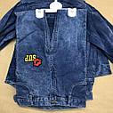 Джинсовый комплект для девочки 5-6-7-8 лет, фото 5