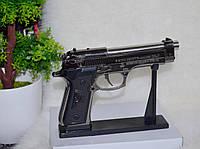 Зажигалка пистолет в виде настоящего пистолета.