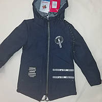 Детская демисезонная курточка для мальчика размер 116-140