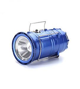 Фонарь трансформер кемпинговый (туристический) светодиодный на аккумуляторе (3 в 1), зарядка 220V + солнечная