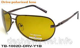 Очки для вождения антифары TED BROWNE TB-1002D DRV-Y1B  67 15-123