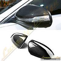 Карбоновые накладки зеркал для Mercedes