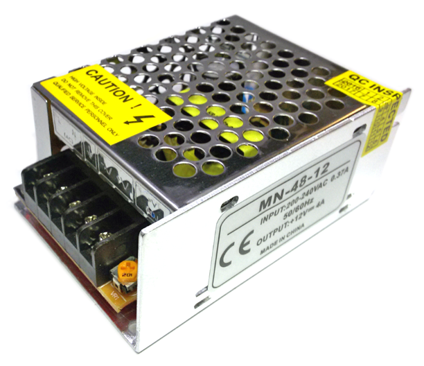 Блок питания SL-48-12 48 Вт 4А негерметичный Код.59347