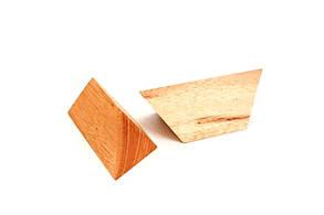 Деревянная головоломка Пирамида из 2 частей