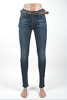Джинсы женские с высокой посадкой/джинсы стрейчевые/джинсы узкие/Gallop 0158