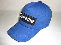 Кепка синяя Supreme, фото 1