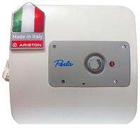 Водонагреватель накопительный Ariston Perla NTS 10 OR PL (PE) - над мойкой - (Италия)